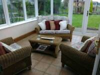 Immaculate conservatory furniture set