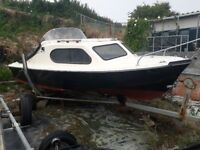 Boat Shetland 535 with trailer and cover £900ono
