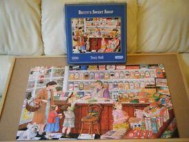 'Betty's Sweet Shop' 1,000 piece Jigsaw Puzzle