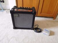 Roland 40XL Amp, Boss pedal and cable