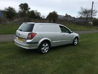 2007 vauxhall astra sport van cdti 60mpg ready for work £895 ovno