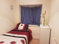 A single room in a nice clean friendly house to rent in Wembley 5 to 10 minutes walk to Preston Ro