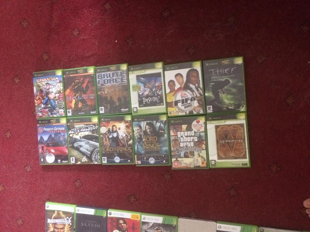 Xbox games (12) used