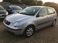 VOLKSWAGEN POLO 1.4 SE HATCHBACK 5DR AUTOMATIC 2003* IDEAL FIRST CAR*CHEAP INSURANCE*EXCELLENT COND