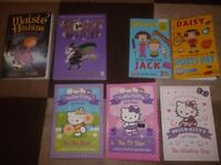 7 Girls fiction Books