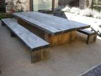 Solid wood Outside dining set