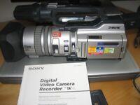 SONY Digital Video camera recorder DCR- VX2100E