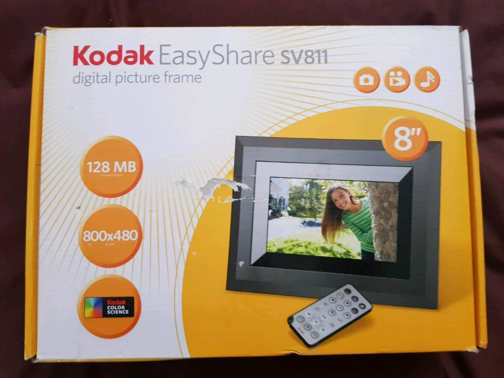 Kodak 8 digital picture frame in greenwich london gumtree kodak 8 digital picture frame jeuxipadfo Image collections