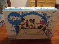 Wii U Draw Game Tablet