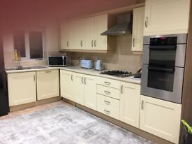 Kitchen for sale with oven hob fridge and dishwasher