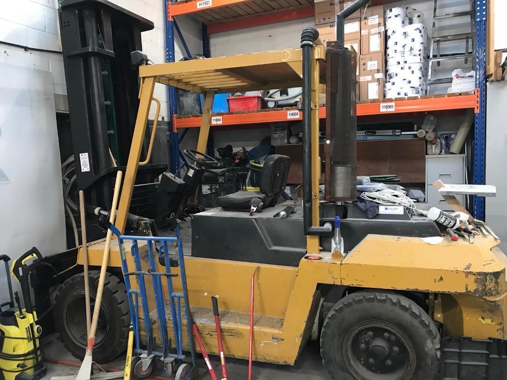 Lansing Hercules Forklift Truck 7 tons Diesel