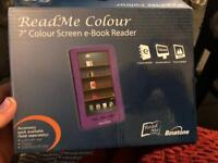 Read me colour 7inch e book reader
