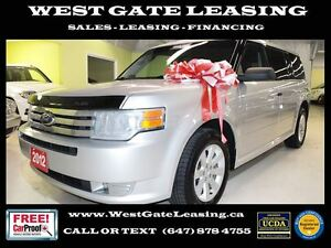 2012 Ford Flex SE | 7 PASSENGER | 0% INTEREST RATE |