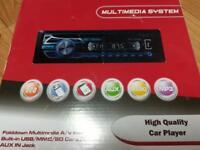 Brand new car multimedia