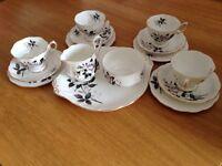 Royal Albert Queens messenger tea set