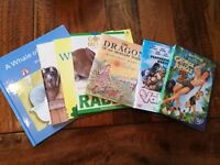 George of the Jungle 3 and Valiant DVDs Plus a Selection of Animal/Dragon Books