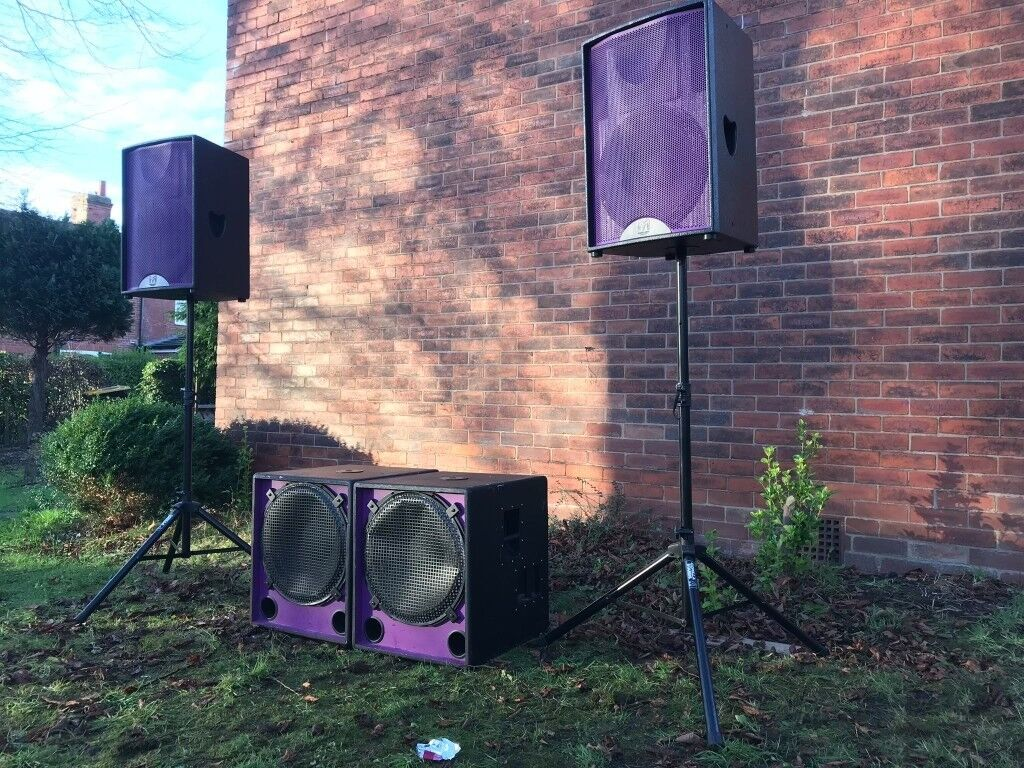 Speaker hire - pro audio for cheap prices  Martin, Void, RCF