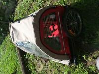 Kids 2 seater bike trailer