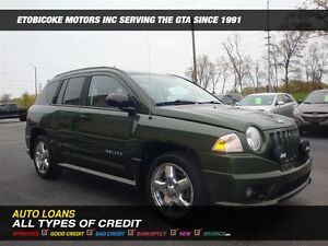 2009 Jeep Compass 4X4 / LIMITED / LEATHER / SUN-ROOF / NAVI