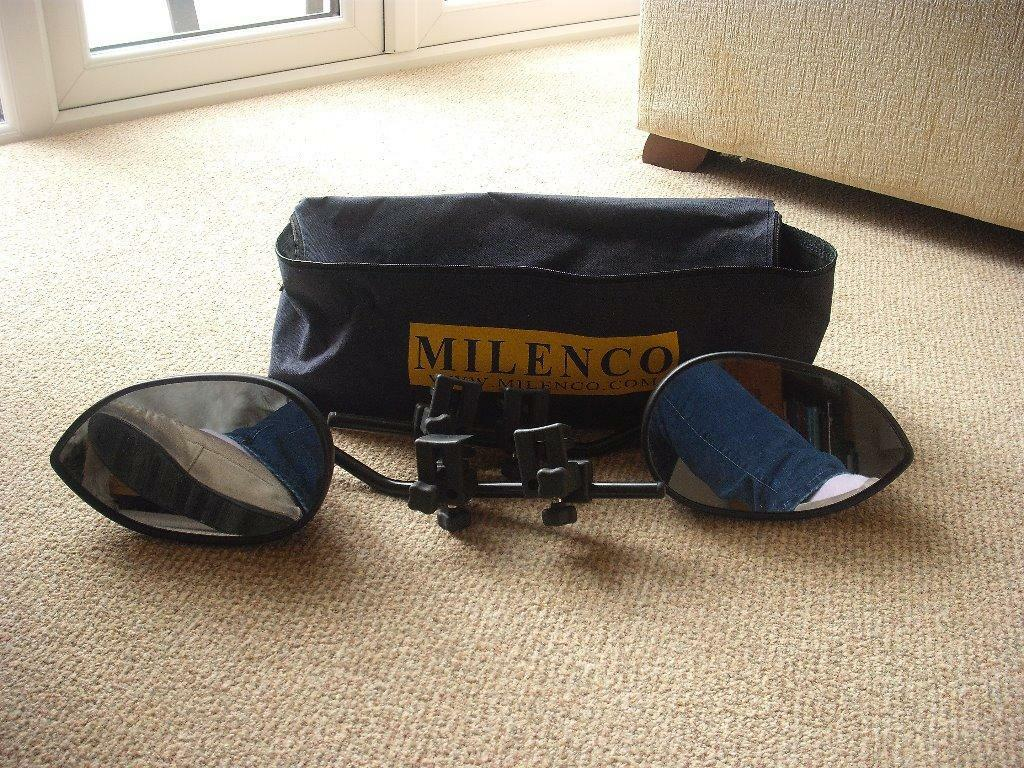 Milenco Caravan Wing Mirror Extensions In Redcar North