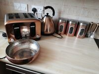 WILKOS copper kitchen appliances