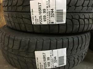 225/65/17 Michelin X-Ice *Winter Tires*