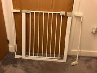 Kids Safety gate with two extensions