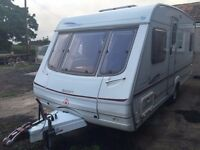 Swift Lifestyle 500 SE 4 Berth Fixed Bed caravan – 2002