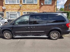 2001 CHRYSLER GRAND VOYAGER LIMITED AUTO