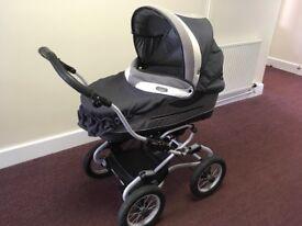 Bebecar Stylo 3-in-1 travel system comprising Pram, Stroller/pushchair, Car seat