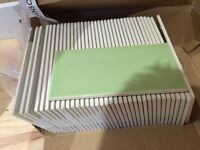 High gloss tiles for kitchen or bathroom