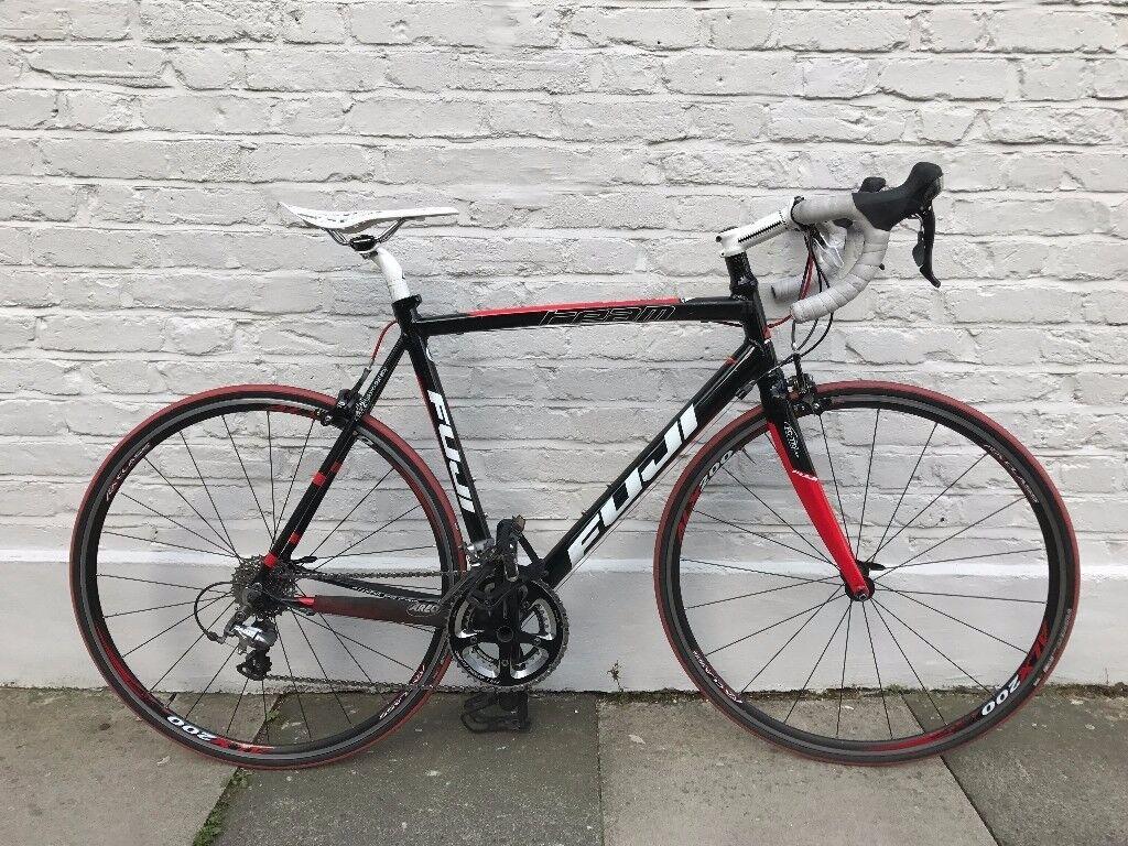 Fuji Team 1 0 Shimano 105 Group Alu Carbon Road Bike 22 56cm