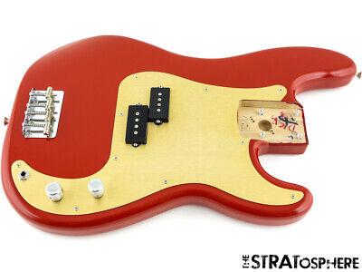 LOADED Fender Vintera 50s RI P BASS BODY Precision Bass Alder Dakota Red