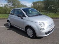 2009 FIAT 500 POP 1.2 SILVER EXCELLENT CONDITION 30 A YEAR ROAD TAX