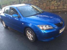 Mazda 3 ts blue