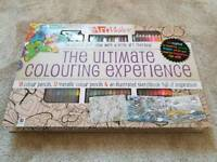The Ultimate Colouring Experience book