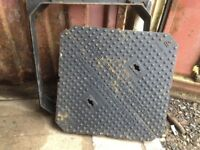 Heavy Duty Inspection Cover EN124 D400 Ductile Iron