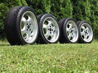 Artec deep dish alloy wheels, 4x100 Vw polo lupo Seat Arosa, Mazda mx5 with tyre