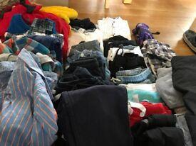 Bundle of boys clothes 8y and 8-9y