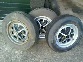 Three MGB ROYSTLE rims £30