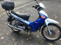 Honda anf 125 innova fuel injection scooter learner bike