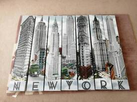 New York Wall Canvass