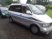 Nissan Largo Day van, Seven Seater, 2.0 td auto, Six Months MOT, 65,000 Miles! May Swap??