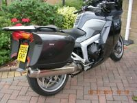 B.M.W.K1200 GT. Full BMW service history,very nice condition,side touring cases,well looked after.