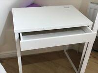 White Desk Micke from Ikea