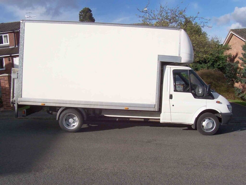 0561ff74f6 24-7 House Removal Cheap Moving Service Man and van with Big Luton Truck  Tail lift Mover Driver Hire