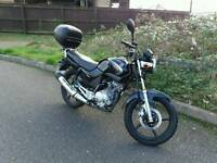 Yamaha ybr125 2008 very low mileage