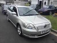 Toyota avensis 2.2 d4dt spirit turbo diesel estate 2005 facelift model 5 door 12 months mot taxed