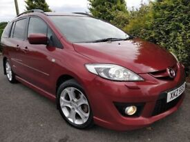 09 MAZDA 5 DIESEL SPORT *7 SEATER* LEATHER XENON ETC LIKE ZAFIRA GALAXY SHARAN ALHAMBRA MPV 7 SEATS