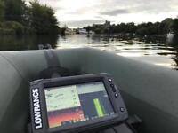 Lowrance elit7ti fish finder , echo sonar